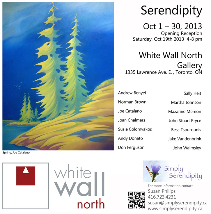 SERENDIPITY - White Wall North Gallery